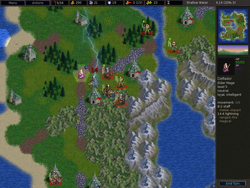 The Battle for Wesnoth 1.9 | เกมส์สงคราม Wesnoth